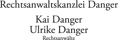 Rechtsanwälte Danger