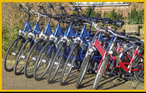 Fahrradverleih Kalkar