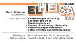 EL-HEI-SA-Bau GmbH