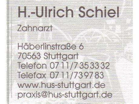 H. Ulrich Schiel