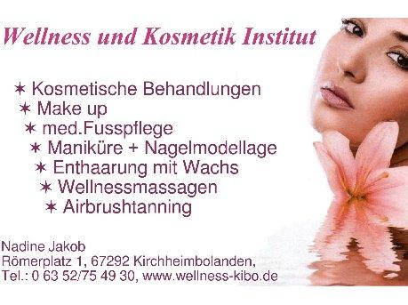 Wellness und Kosmetik