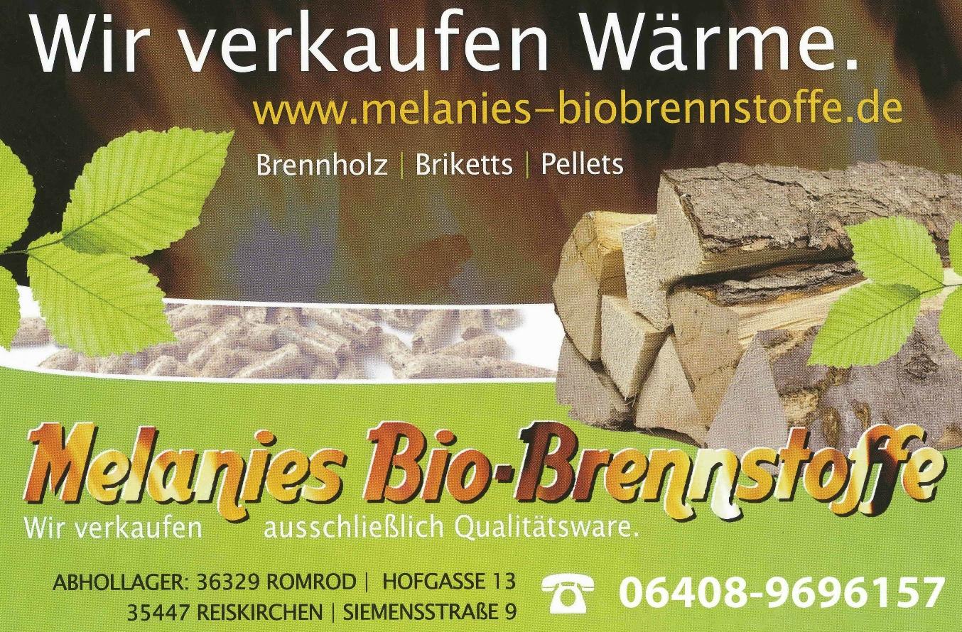 Melanies Bio-Brennstoffe