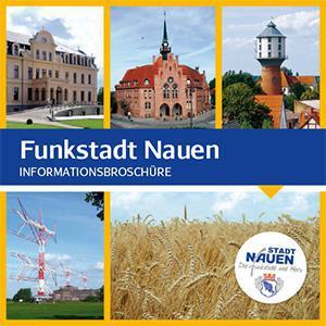 Nauen, Funkstadt - Informationsbroschüre
