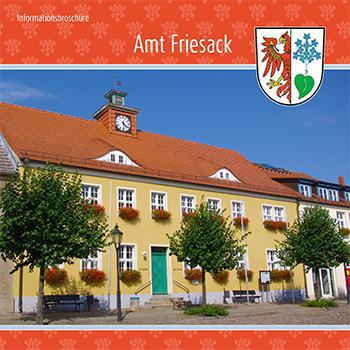 Amt Friesack Informationsbroschüre