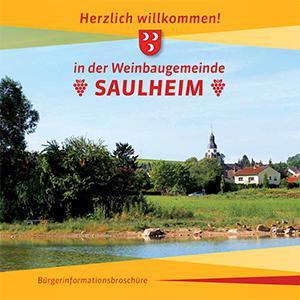 Weinbaugemeinde Saulheim Bürgerinformationsbroschüre