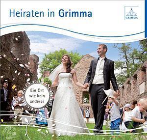 Heiraten in Grimma Hochzeitsbroschüre