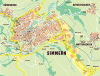 Simmern (Kinderstadtplan)