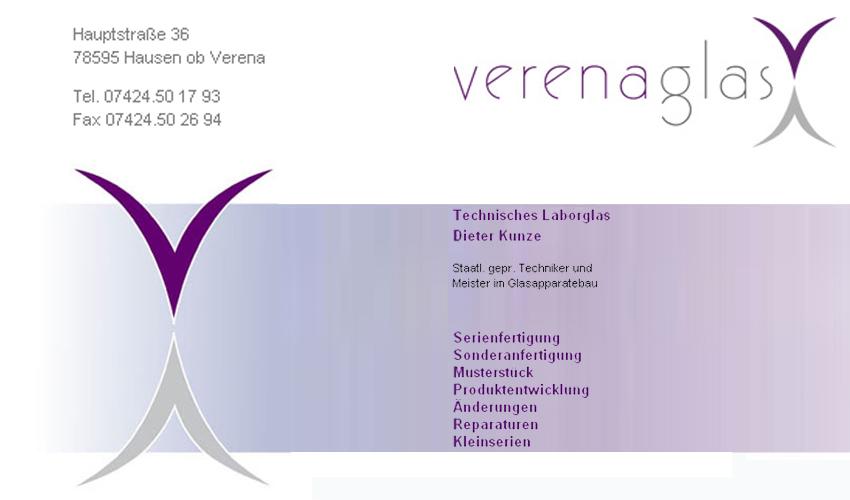 Elektronische Visitenkarte Stadtplan Net Verena Glas
