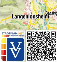 Stadtplan Langenlonsheim, Bad Kreuznach, Rheinland-Pfalz, Deutschland - stadtplan.net