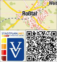 Stadtplan Roßtal, Fürth, Bayern, Deutschland - stadtplan.net