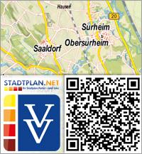 Stadtplan Saaldorf-Surheim, Berchtesgadener Land, Bayern, Deutschland - stadtplan.net