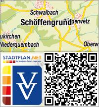 Stadtplan Schöffengrund, Lahn-Dill-Kreis, Hessen, Deutschland - stadtplan.net