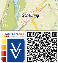 Stadtplan Scheuring, Landsberg am Lech, Bayern, Deutschland - stadtplan.net