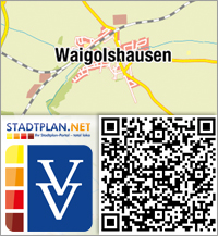 Stadtplan Waigolshausen, Schweinfurt, Bayern, Deutschland - stadtplan.net