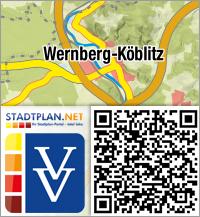 Stadtplan Wernberg-Köblitz, Schwandorf, Bayern, Deutschland - stadtplan.net