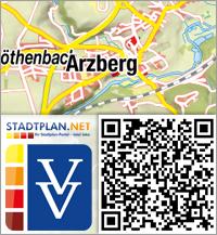 Stadtplan Arzberg, Wunsiedel im Fichtelgebirge, Bayern, Deutschland - stadtplan.net