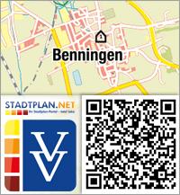 Stadtplan Benningen, Unterallgäu, Bayern, Deutschland - stadtplan.net