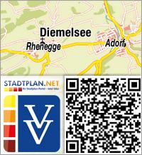 Stadtplan Diemelsee, Waldeck-Frankenberg, Hessen, Deutschland - stadtplan.net