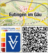 Stadtplan Eutingen im Gäu, Freudenstadt, Baden-Württemberg, Deutschland - stadtplan.net