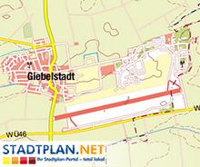Stadtplan Giebelstadt, Würzburg, Bayern, Deutschland - stadtplan.net