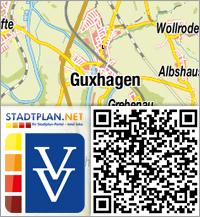 Stadtplan Guxhagen, Schwalm-Eder-Kreis, Hessen, Deutschland - stadtplan.net