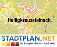 Stadtplan Heiligkreuzsteinach, Rhein-Neckar-Kreis, Baden-Württemberg, Deutschland - stadtplan.net