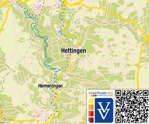 Stadtplan Hettingen, Sigmaringen, Baden-Württemberg, Deutschland - stadtplan.net