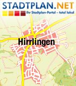 Stadtplan Hirrlingen, Tübingen, Baden-Württemberg, Deutschland - stadtplan.net