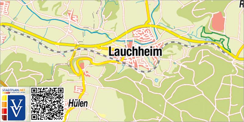 Stadtplan Lauchheim, Ostalbkreis, Baden-Württemberg, Deutschland - stadtplan.net