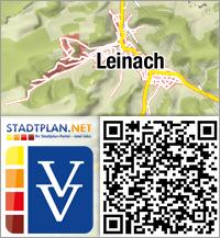Stadtplan Leinach, Würzburg, Bayern, Deutschland - stadtplan.net
