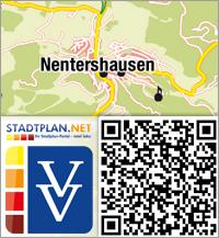 Stadtplan Nentershausen, Hersfeld-Rotenburg, Hessen, Deutschland - stadtplan.net