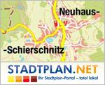 Stadtplan Neuhaus-Schierschnitz, Sonneberg, Thüringen, Deutschland - stadtplan.net