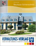 Informationsbroschüre, Stadtplan Neuhaus-Schierschnitz, Sonneberg, Thüringen, Deutschland - stadtplan.net