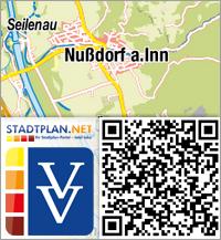 Stadtplan Nußdorf am Inn, Rosenheim, Bayern, Deutschland - stadtplan.net