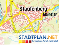 Stadtplan Staufenberg, Gießen, Hessen, Deutschland - stadtplan.net
