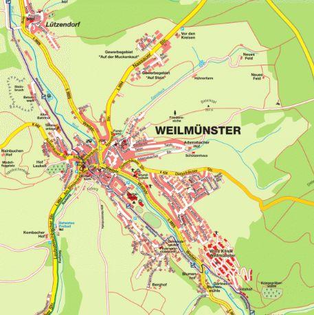 Stadtplan Hessen, Limburg-Weilburg - stadtplan.net